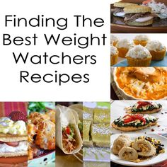 Finding The Best Weight Watchers Recipes