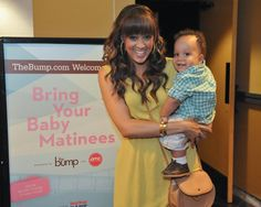 Tia Mowry (and baby Cree!) host The Bump Bring Your Baby Matinee event