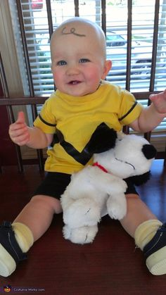 Charlie Brown - cute costume idea!