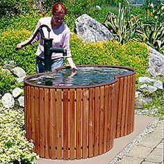 Regenfass Holz - Bauernbrunnen