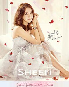 160410 CASIO SHEEN SNSD Yoona