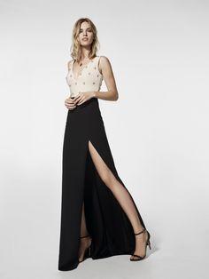 Foto vestido de fiesta negro (62018)