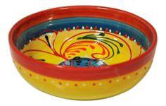 6 Ensaladeras individuales de cerámica pintadas a mano Precio: 35 € eBay