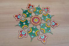 Designer Rangoli by craftiv on Etsy