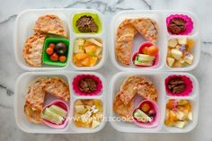 Kids love English muffin pizzas for lunch!