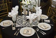 wedding favor table setting