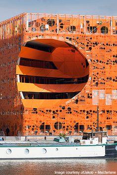 The Orange Cube, Lyons, France