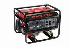 212cc, 4000 Watts Max/3200 Watts Rated Portable Generator