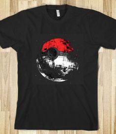 256b8d9e PokeDeath Star Wars Jewelry, Jedi Sith, Quality T Shirts, Death Star, Shirt
