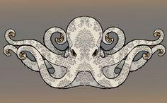 Browse Digital Art on DeviantArt Squid Tattoo, Octopus Tattoos, Octopus Drawing, Octopus Art, Octopus Mermaid, Octopus Jewelry, Steampunk Octopus, Octopus Design, Dope Art