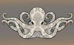 victorian octopus concept. by kerinewton.deviantart.com on @deviantART