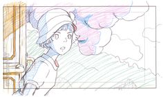 artbooksnat:  Studio Ghibli animation layouts from The Wind Rises (風立ちぬ), illustrated by When Marnie Was There director Hiromasa Yonebayashi (米林宏昌). The illustrations were featured in Hiromasa Yonebayashi Illustrations (Amazon US | JP) along with other drawings of the heroine Naoko Satomi.