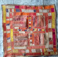 Your place to buy and sell all things handmade – Pillow Pillow Embroidery, Indian Textiles, Dark Beige, Tribal Fusion, Handmade Pillows, Orange Pink, Cotton Linen, At Least, Boho