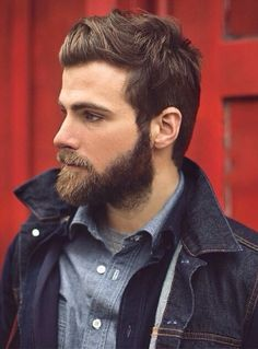 I love his hair and beard.