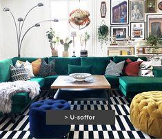 Soffor - Köp en snygg & prisvärd soffa online hos SoffaDirekt