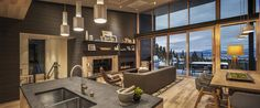 Slopeside Tahoe Chalet Covered in El Niño Snow Wants $3.1M - On The Market - Curbed Ski