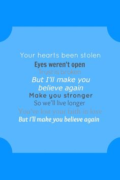 Make You Believe - Little Mix. IM IN LOVE WITH THIS SONG