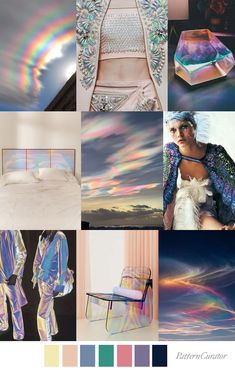 Color Patterns, Print Patterns, Fashion Portfolio Layout, Fashion Themes, Color Fashion, Clouds Pattern, Fashion Forecasting, Color Trends, Collage