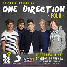 #ElDuende1D #Four #OneDirection #Directioners #Guatemala