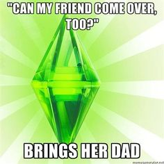 """The Sims lead a sad life"", said one pinner. ---Agreed!"