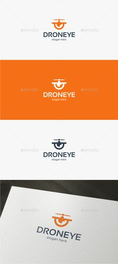 Drone Eye  Logo Template — Vector EPS #copter #vision • Available here → https://graphicriver.net/item/drone-eye-logo-template/13289116?ref=pxcr