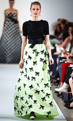 #OscardelaRenta's New Garden-Inspired Collection: Our Favorite Looks. http://news.instyle.com/photo-gallery/?postgallery=113280#