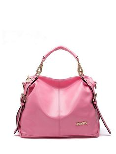 Western Newly Solid Fashion Soft Leather Shoulder Bags