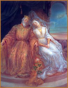 Sleeping Beauty - The King and Queen asleep