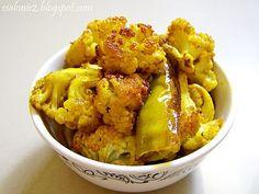 Recepty z Indie II.: Peceny karfiol