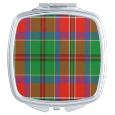 Mcculloch Scottish Tartan Compact Mirror