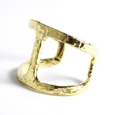 Christina Jervey Jewelry gold goddess cuff