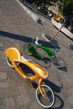 Awesome custom lowrider bikes.