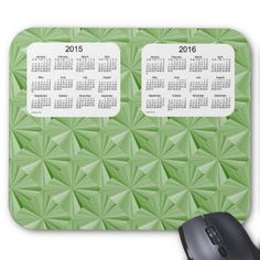 Jade Diamonds 2 Year 2015-2016 Calendar Mousepad Mousepads