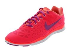 Amazon.com: Nike 555158 Women's Free Trainer Fit 3 - Pink/Pink: Shoes