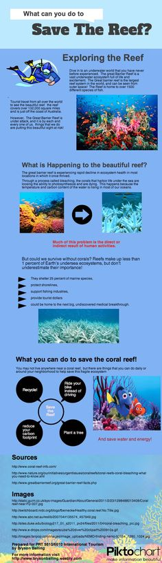 The Great barrier reef contains a very fragile ecosystem.  learn what you can do every day to help prevent the gradual decay that the reef is experiencing, even though you do not live close visit www.brysonballing.weebly.com for more info