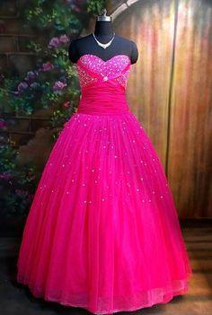 fuschia prom dresses