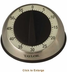 Taylor Precision 5830 Easy Grip Mechnical Timer