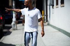New York Fashion Week Street Style, Day 7 - New York Fashion Week Street Style, Day 7-Wmag