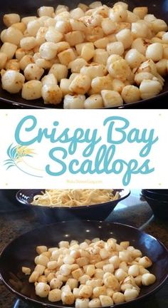 This recipe for Crispy Bay Scallops is a great way to enjoy scallop taste on a budget. Most importantly, though, my family loves loves loves this recipe!