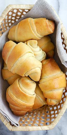 Easy Potato Rolls – the best, softest, pillowy homemade potato rolls recipe ever! From Oh Sweet Basil's cookbook. Fail proof and SO GOOD   rasamalaysia.com