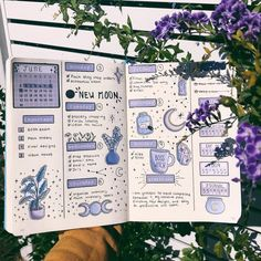 20 Bullet Journal Weekly Spread Ideas You'll Want To Try Crystal. - 20 Bullet Journal Weekly Spread Ideas You'll Want To Try Crystals moons bullet jo - Bullet Journal Inspo, Future Log Bullet Journal, Bullet Journal Weekly Spread Layout, Minimalist Bullet Journal, Self Care Bullet Journal, Bullet Journal Aesthetic, Bullet Journal Notebook, Bullet Journal Themes, Bullet Journal Yearly Calendar