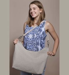 Free Pattern: Make a Curved-Top Tote - Threads