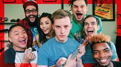 YouTuber Jon Cozart, known for his musical parodies, wrote a song that satirizes the fame of YouTube celebrities. Interestingly enough, by including other YouTubers in the video and encouraging viewers to subscribe to them at the end, this video is a reluctant participant in the very culture that it parodies.
