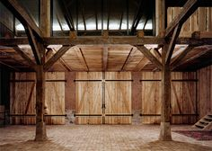 Thomas Kroeger converts German cowshed into holiday home