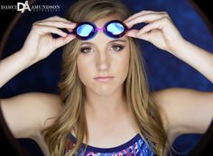Darci Amundson Photography Denver, Colorado High School Senior photographer #senior Thornton high school #swimmer #goggles #wet #water  www.darciphotography.com