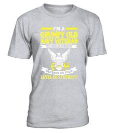 Mens Men's I'm A Grumpy Old Navy Veteran T-Shirt  => Check out this shirt or mug by clicking the image, have fun :) Please tag, repin & share with your friends who would love it. #navyveteranmug, #navyveteranquotes #navyveteran #hoodie #ideas #image #photo #shirt #tshirt #sweatshirt #tee #gift #perfectgi