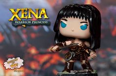 Xena Warrior Princess Custom Pop