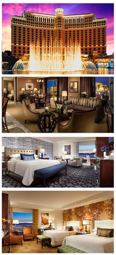 The Bellagio has some of the most luxurious hotels and suites on the Strip. Click the pic to explore more Vegas hotels.