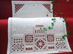 CasaERBA: Pattern - Città a Punto Antico