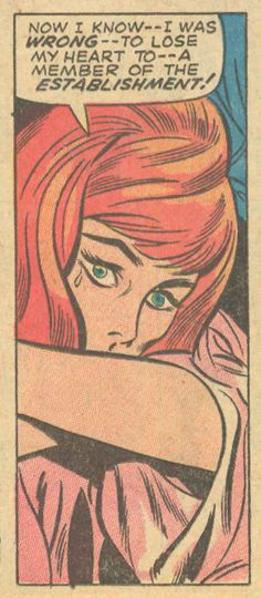 "vintage romance comic ""My Love #5"" Story by Stan Lee, Pencils by Don Heck, Inks by John Verpoorten"